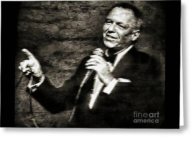 Frank Sinatra -  Greeting Card