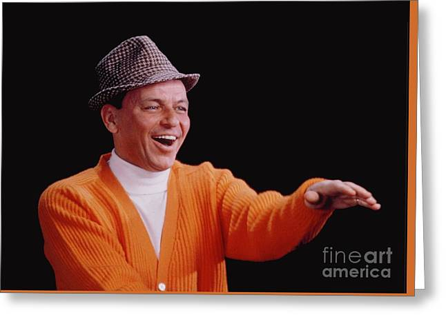 Frank Sinatra Promotional Photo From 1964 Greeting Card by The Titanic Project