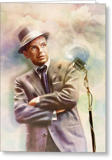 Frank Sinatra - The Voice Greeting Card