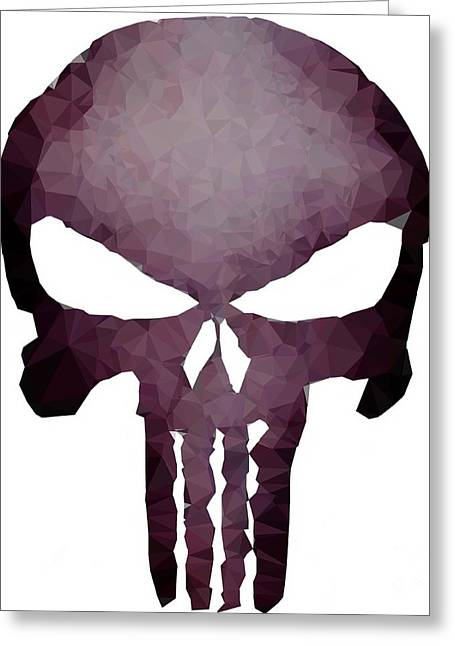 Frank Skull Greeting Card