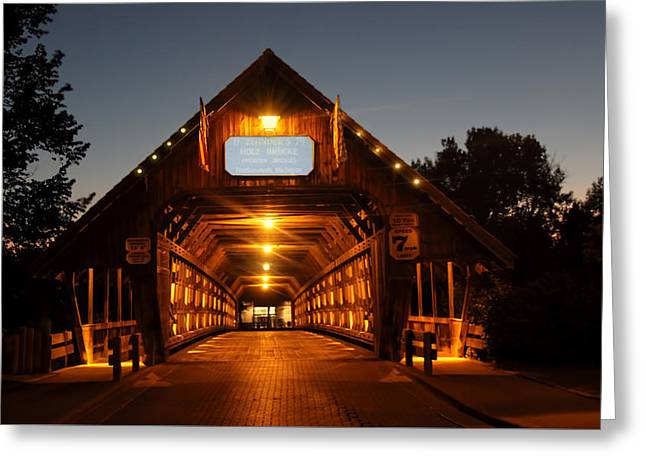 Frankenmuth Covered Bridge Greeting Card