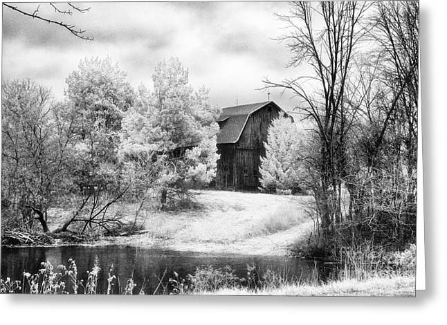 Frankenmuth Farm Greeting Card by Jeff Holbrook