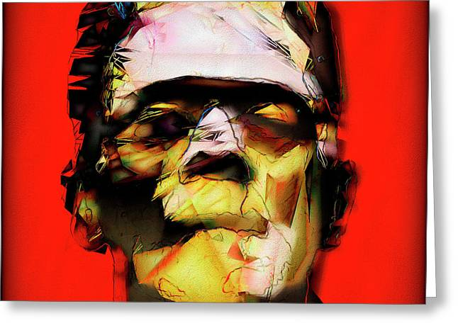 Greeting Card featuring the photograph Frankenstein 20170325 V3 Square by Wingsdomain Art and Photography