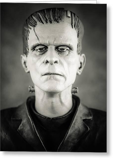 Frankenstein's Monster - Boris Karloff II Greeting Card by Marco Oliveira
