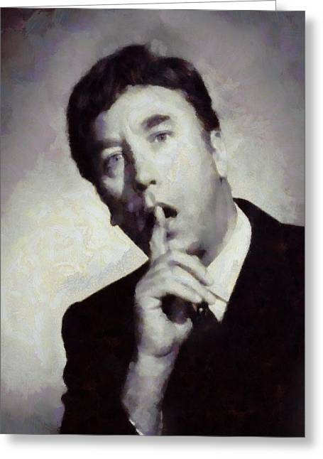 Frankie Howerd, Carry On Actor Greeting Card