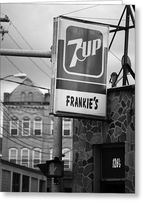 Binghampton New York - Frankie's Tavern Greeting Card