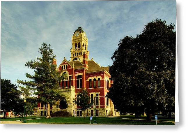Franklin County Courthouse - Hampton Iowa Greeting Card
