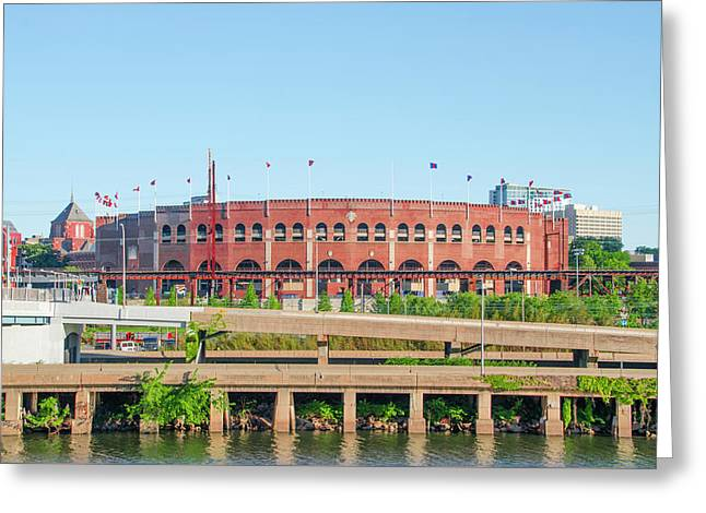 Franklin Field From South Street Greeting Card