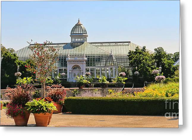 Franklin Park Conservatory  7547 Greeting Card