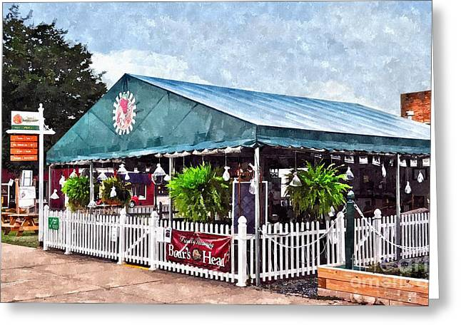 Franks For The Memories Greeting Card by Kathy Jennings
