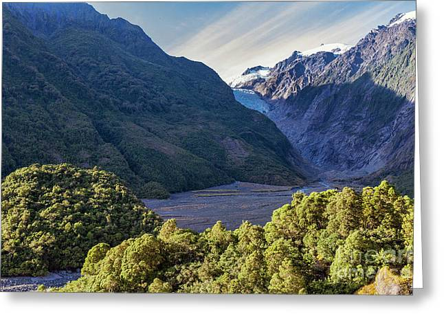 Franz Josef, New Zealand Greeting Card by Elaine Teague
