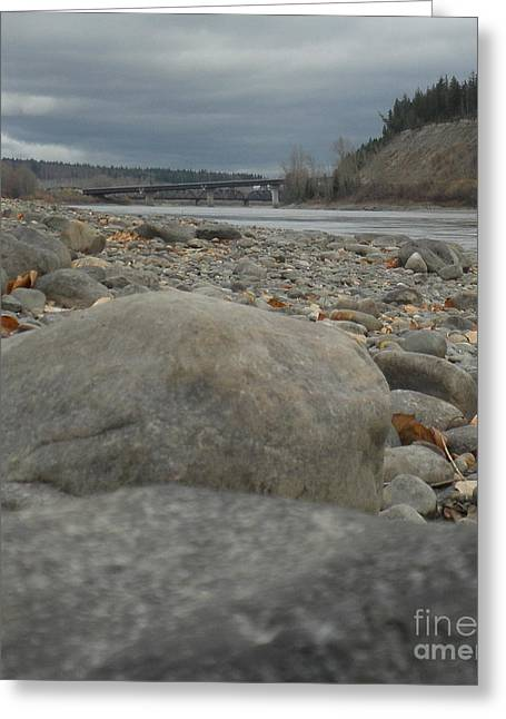 Fraser River Greeting Card