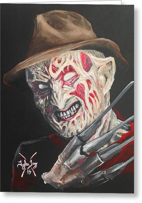 Freddy's Back Greeting Card