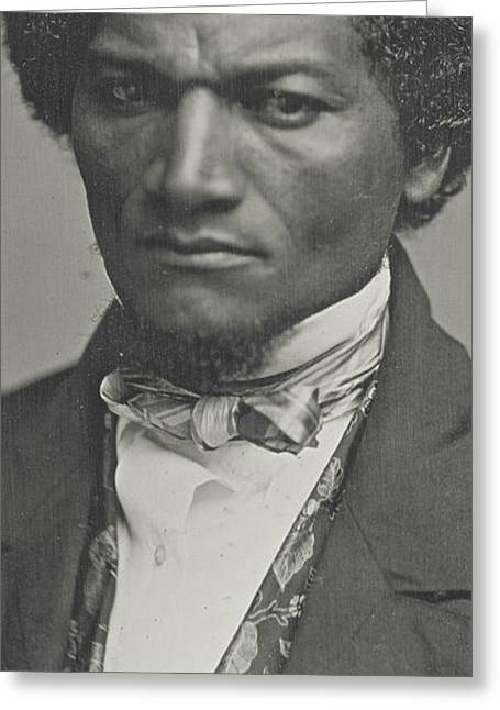 Frederick Douglass Greeting Card by American School