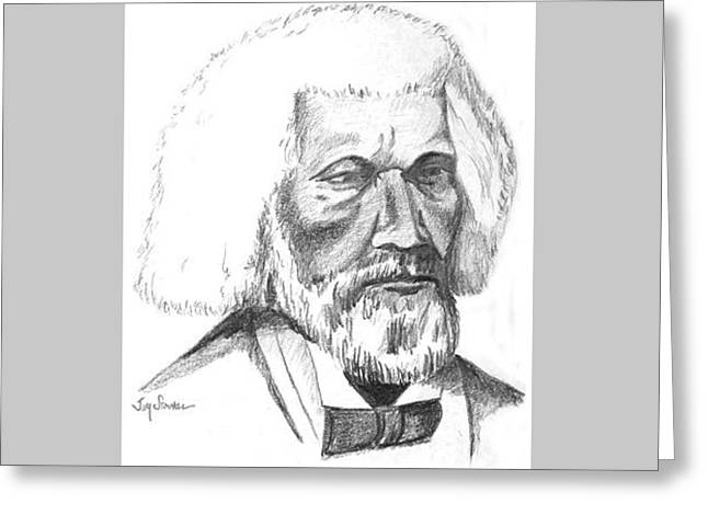 Frederick Douglass Greeting Card by Jim Stovall