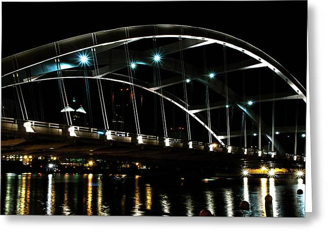 Frederick Douglass Susan B. Anthony Memorial Bridge Greeting Card by Optical Playground By MP Ray