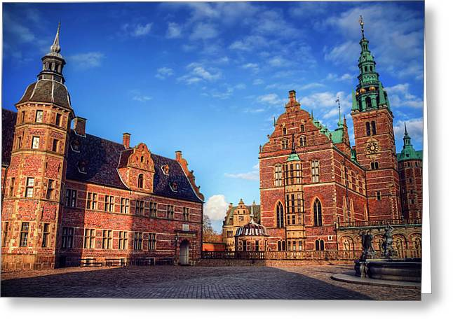 Frederiksborg Slot Denmark  Greeting Card by Carol Japp