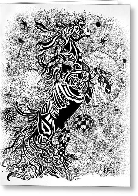 Free At Last Greeting Card by Yvonne Blasy
