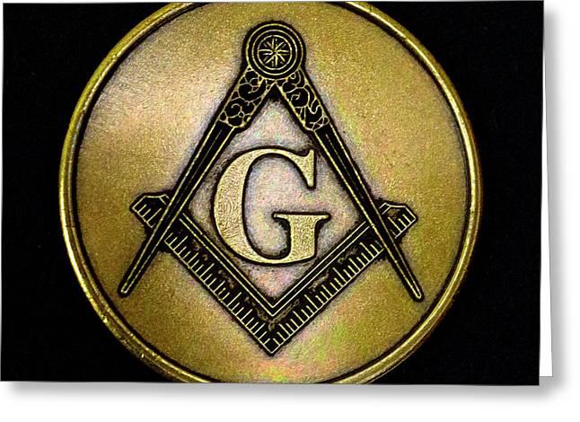 Free Masons - Knights Templar Greeting Card