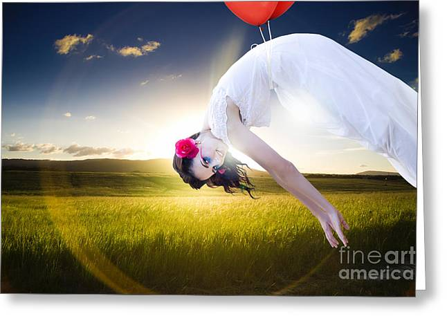 Freedom Concept Greeting Card by Jorgo Photography - Wall Art Gallery
