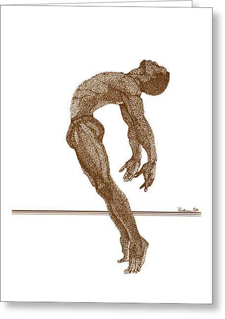 Freedom Dance Ll Greeting Card by Leonard R Wilkinson