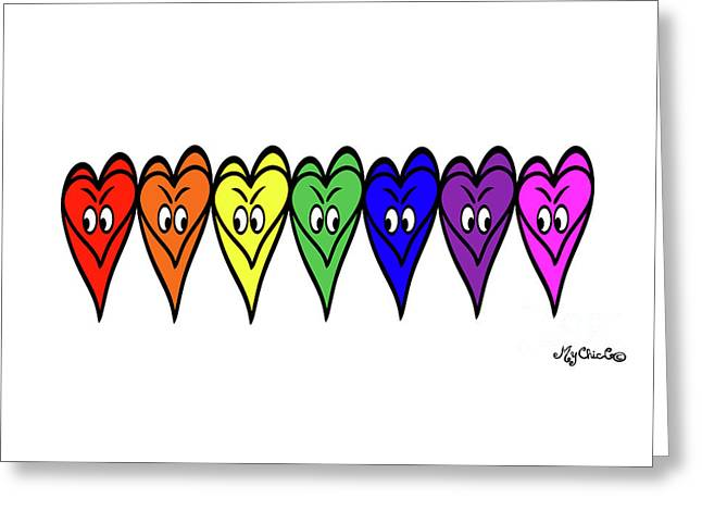 Freedom Is In The Rainbow Greeting Card