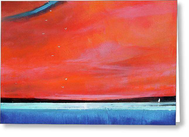 Freedom Journey Greeting Card by Toni Grote