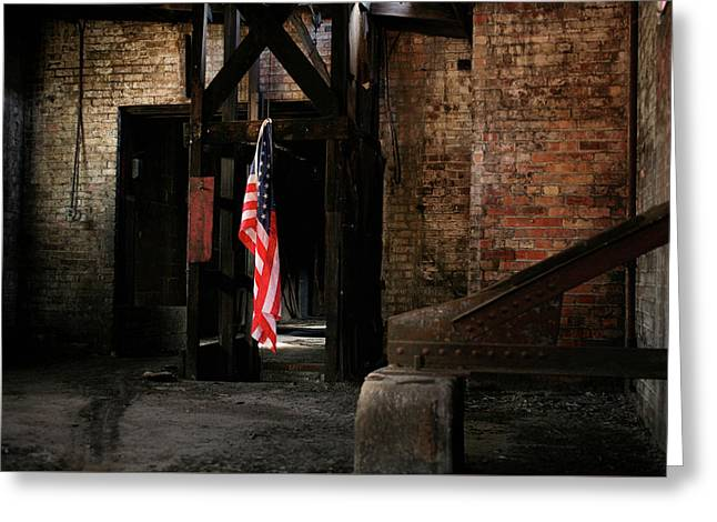Greeting Card featuring the photograph Freedom by Kyle Findley