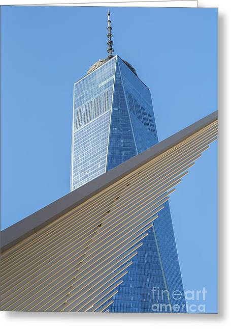 Freedom Tower And Oculus I Greeting Card