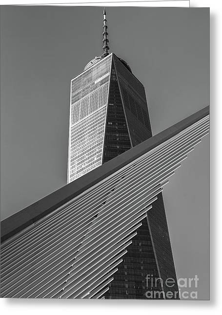 Freedom Tower And Oculus II Greeting Card