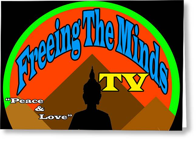 Freeing The Minds Supporter Greeting Card