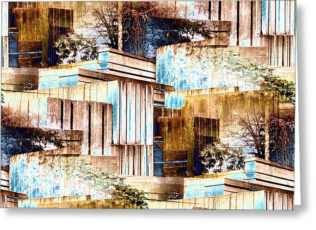 Freeway Park Greeting Card by Tim Allen