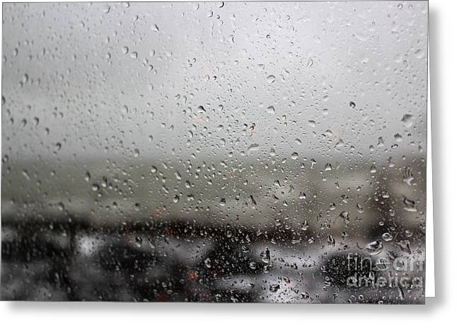 Freezing Rain Greeting Card