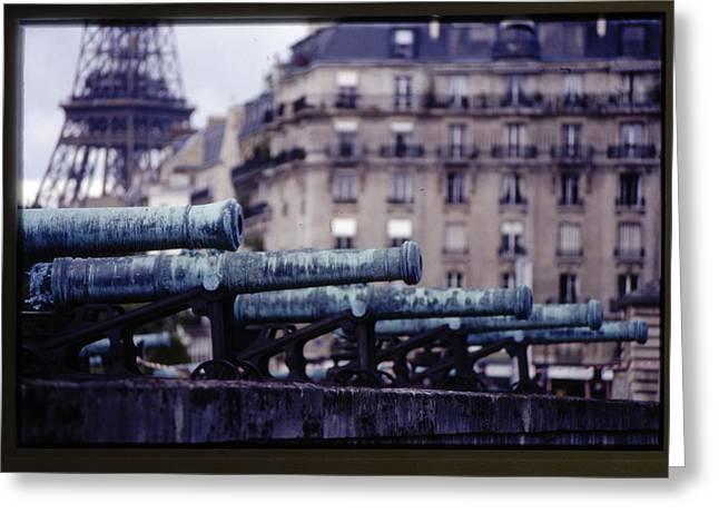 French Canons Greeting Card by Don Wolf