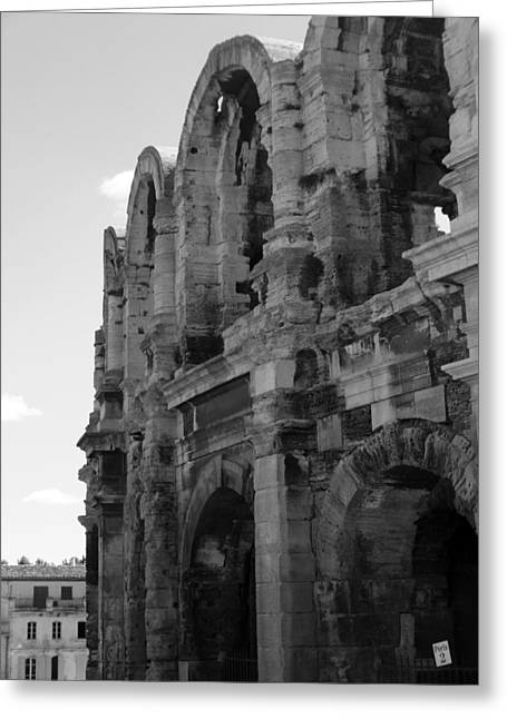 French Colosseum Greeting Card by Noelle  Kimberley
