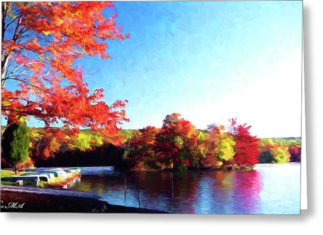 French Creek Fall 020 Greeting Card