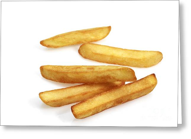 French Fries Greeting Card by Gerard Lacz