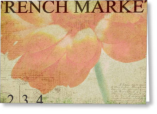 French Market Series E Greeting Card by Rebecca Cozart