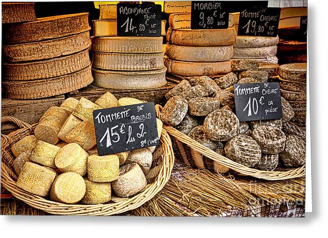 French Mountain Cheese Greeting Card