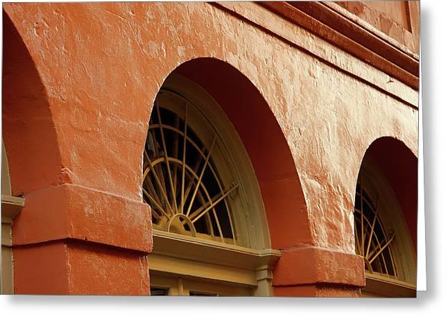 French Quarter Arches Greeting Card by KG Thienemann