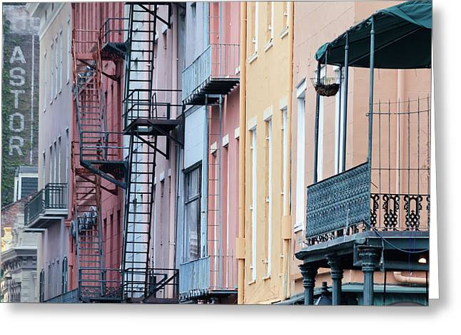 French Quarter Colors Greeting Card