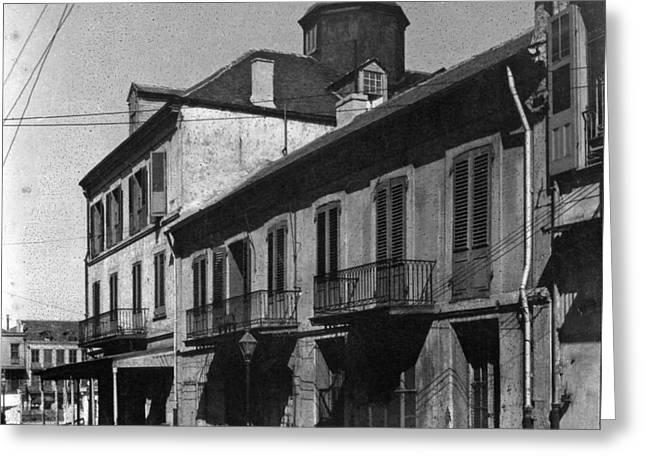 French Quarter Residences Greeting Card