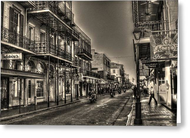 French Quarter Ride Greeting Card