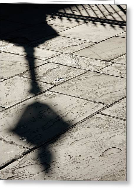 French Quarter Shadow Greeting Card