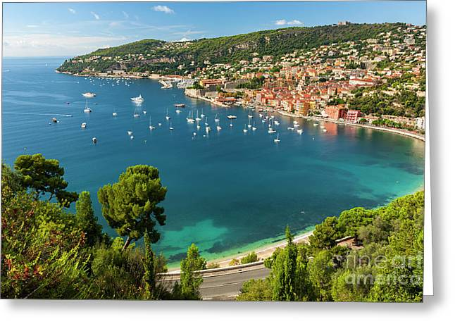French Riviera Greeting Card
