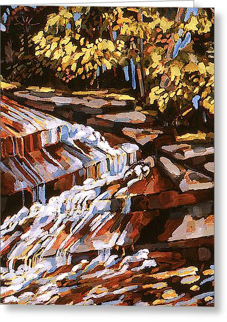 Frenchtown Creek Greeting Card