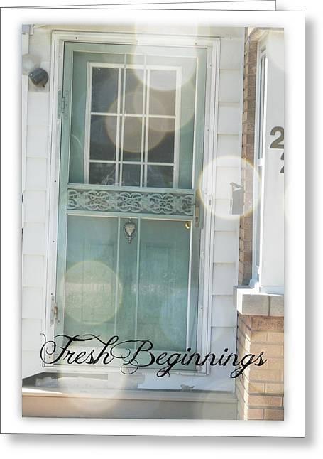 Fresh Beginnings Greeting Card