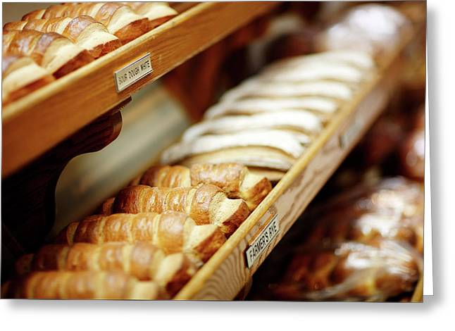 Fresh Bread Greeting Card by Todd Klassy