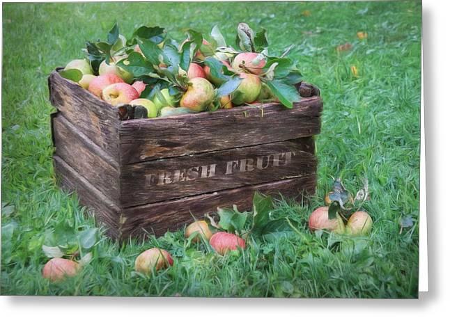 Fresh Fruit Greeting Card by Lori Deiter
