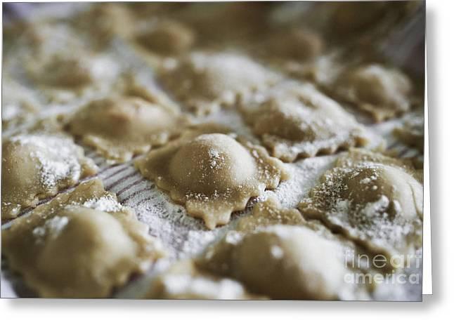 Fresh Homemade Italian Pasta  Greeting Card